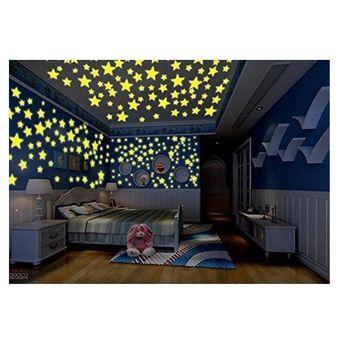 Compra estrellas fluorescentes 200 unids decoracion for Programa para decorar habitaciones online