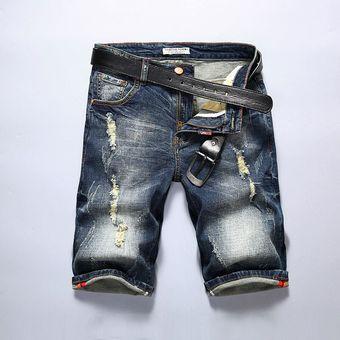 Pantalones Cortos Para Hombre Pantalones Vaqueros De Marca Retro Nostalgia Bermuda Vaquera Corta Para Hombre Jean Azul Talla 28 40 Color 315 Linio Peru Un055fa0c4a0zlpe