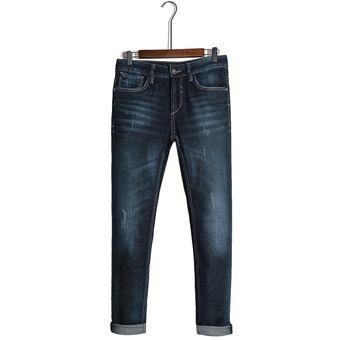 Pantalones De Mezclilla Ligao Para Hombres Vaqueros Delgados Azules Pantalones Largos Vaqueros Casuales De Cuerpo Entero Linio Mexico Ge598fa0edht3lmx
