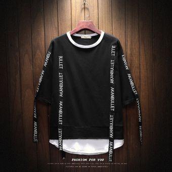 e44d9559c0 Compra Camisetas Hombre Playeras Manga Corta T-Shirt Caballero-negro ...