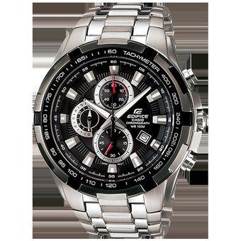 301fad493c02 Agotado Reloj Casio Edifice EF-539D-1AV Analógico Hombre - Plateado Y Negro