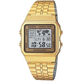 452fa66166ce Compra Reloj Casio A500WGA-Dorado online