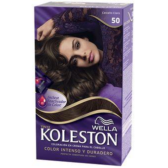 Carta de colores de pelo koleston