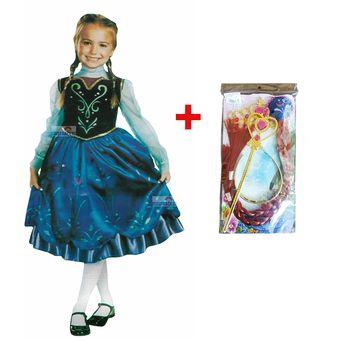 Vestido Y Frozen Cetro Anna Mechón CoronaVarita Disfraz mNw08n