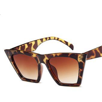 distribuidor mayorista 6dc68 0b8f3 Gafas De Sol Gafas De Polarizadas Retro Mujer-Estampado Leopardo