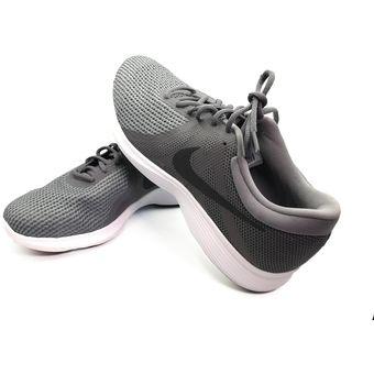 Zapatillas Tenis Nike Revolution 4 Para Hombre Gris Original