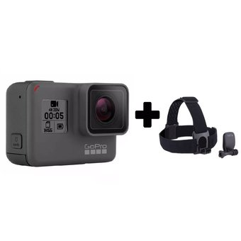 Camara Gopro Hero 5 Black + Gopro Head Strap + Quickclip Regalo