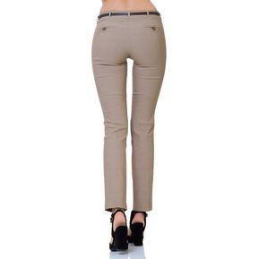 Pantalon De Vestir Barbary Mujer Beige S