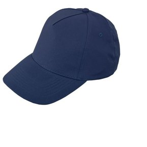 Gorra Cachucha Poliester 5 Cascos Velcro Ojetes Bordados - Azul Oscuro 9be8ebe9a58