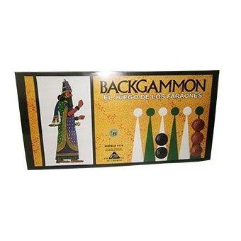 Compra Juego De Mesa Backgammon Faraon Multicolor Online Linio
