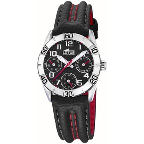 353125b0ddd3 Reloj 15651 G Negro Lotus Niño Junior Collection