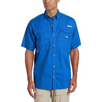 Compra Camisa Columbia Hombre Bonehead Azul Talla S online  44d263f77dc