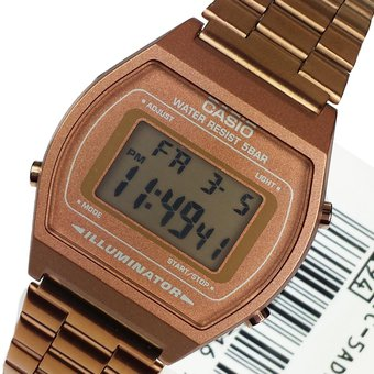 1a82b79a9dc3 Compra Reloj CASIO Vintage B640 Caballero Acero Inoxidable-Cobre ...