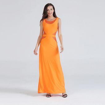 a0643f9df Verano Cóctel Vestido Ajustado Túnica Sexy Vestidos De Fiesta Mujer-Amarillo