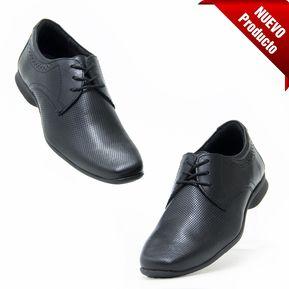 3a51ef1148aa4 Zapatos Flexi 79501 para Caballero Comodos y Elegantes- Negro