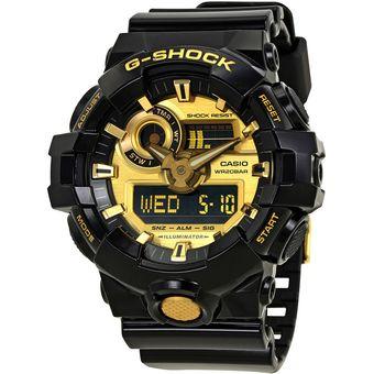 6952b1e43715 Compra Reloj Casio G-Shock GA-710GB-1A Analógico Y Digital Hombre ...