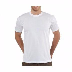 Camisetas Cuello Redondo Blanca En Algodón 180 Gr. bb4c2672510