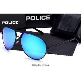 4cd3d0273c Agotado Lentes De Sol - Policia - Aviador - Polarizados + Proteccion UV -  Negro