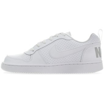 Tenis Nike Court Borough Low 839985100 Blanco Joven