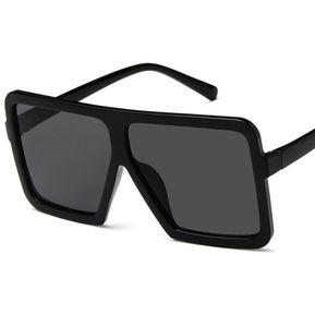 bdaee1e708 El Cuadrado Grande Mujeres Hombres Gafas De Sol UV400 Eyewear Hip Hop  Todos-match Gafas