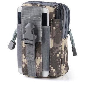 Gym bags Bolsa de Cintura cangurera deportivo para Correr Color en Gris 28f87fac93d6