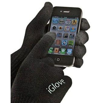 71366577451 Iglove Nuevos Guantes Touch Para Ipod Ipad Iphone Celular Touch - Negro
