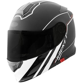 f782c9a9ec14a Casco Abatible Modular Joe Rocket Rkt 18 Negro Mate Blanco