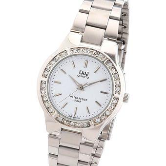8a49c0dd50de Compra Reloj Q q Para Dama Q691j201y Pulso En Acero Original online ...