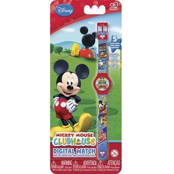 talla 40 74a57 cfa67 Reloj Digital Mickey Mouse 5 Funciones