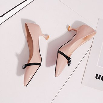 033007a3 Compra Zapatos mujer con tacón y lazo - Rosa online | Linio Chile
