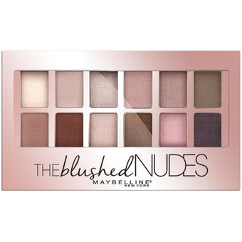 Paleta de Sombras Maybelline The Blushed Nudes-Multicolor Beauty Fashion Week