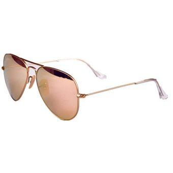 fd639e9d7e ... spain agotado ray ban aviator rb 3025 112 z2 espejo rosa dorado mediana  7da9a bd0b0