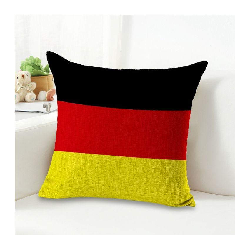 Alemania Patron De La Bandera Nacional - Ropa De Algodon Funda De Almohada Interior Almohada No Incluido Tamaño: 45 * 45cm SU015HL1BA9V9LMX 6A7HbZyr 6A7HbZyr nrQOA8th