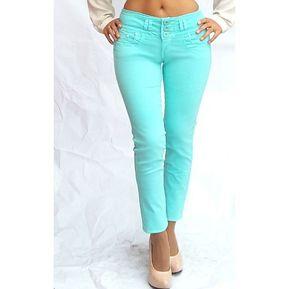 Usafrica - Pantalón Mujer PD15M02VER - Verde Agua 55453b3cbfd7