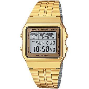 9554baf4dbea Compra Reloj CASIO Digital Dorado A-500WGA-9D Para Dama online ...