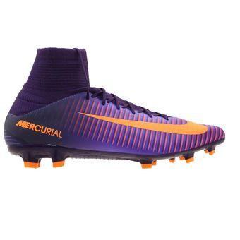 Compra Zapatos Fútbol Hombre Nike Mercurial Veloce III Df -Morado ... a1a9c8643e3dc