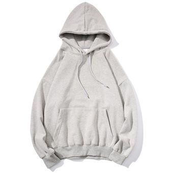 talla S-5XL sudadera con capucha Sudadera informal de forro polar de color liso con cremallera para hombre