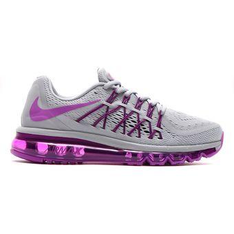 Compra Tenis Air Max 2015 698903 Gris 015 Nike Para Mujer Gris 698903 online ffc439