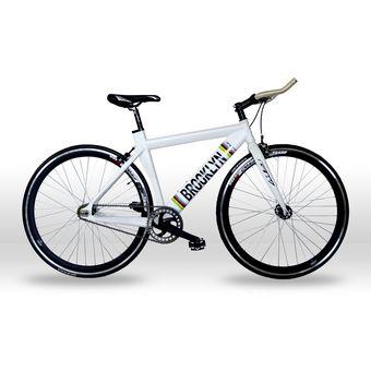 114f94d5db5 Compra Bicicleta Fixie Brooklyn Gw Rin 700 Freno Carraca/blanca ...