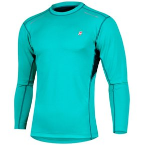 Camiseta térmica deportiva hombre respirable Ansilta Umbral verde 860d46e532913