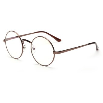 Agotado Vintage ópticos Gafas Las Lentes ópticas Redondo Los Anteojos  Grande Marco -Bronce 37d88f0c5bf0