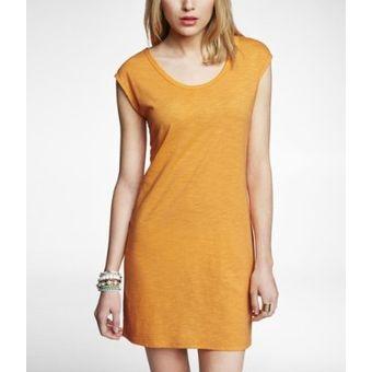 97a6e9a9db Compra Vestido Express Vestido EXPRESS - 2474-212 Naranja online ...