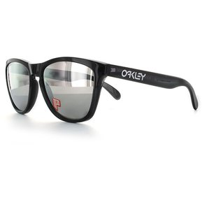 3a95aea813 Lentes Oakley Frogskins Black Ink Chrome Iridium Polarized