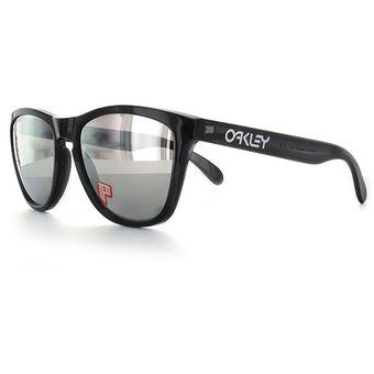 cb036f3158 Compra Lentes Oakley Frogskins Black Ink Chrome Iridium Polarized ...