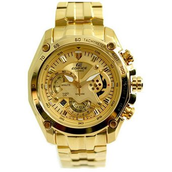 89d00d4c4ecf Compra Casio - Reloj Analógico Hombre Edifice EF-550FG-5AV - Dorado ...