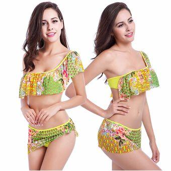 1c7ee5c8b Vestidos De Baño Para Mujer Ropa De Playa Bikini Un Hombro Tops Y Braguitas