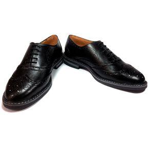 2a63104f Zapatos Oxford Para Hombre Outfit Italia Negro