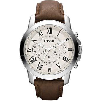 ab75e7c15220 Compra Reloj Fossil FS4735 Analógico Correa De Cuero Para Hombre ...